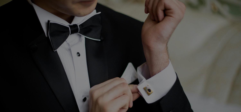 krawaty męskie, muchy męskie, poszetki do garnituru, spinki do mankietów