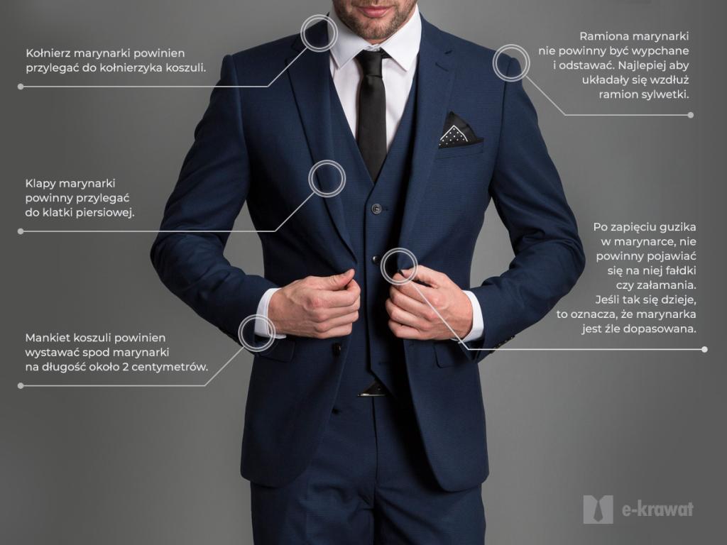 Idealne dopasowanie garnituru. Jak ubrać się na wesele?
